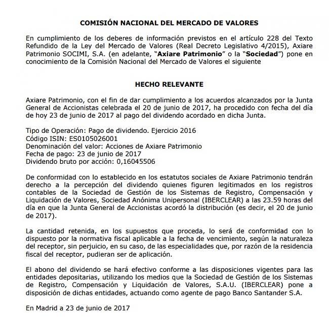 COLONIAL Entra en el Ibex35 a partir del 19 Junio-axiare-pago-de-dividendo.jpg