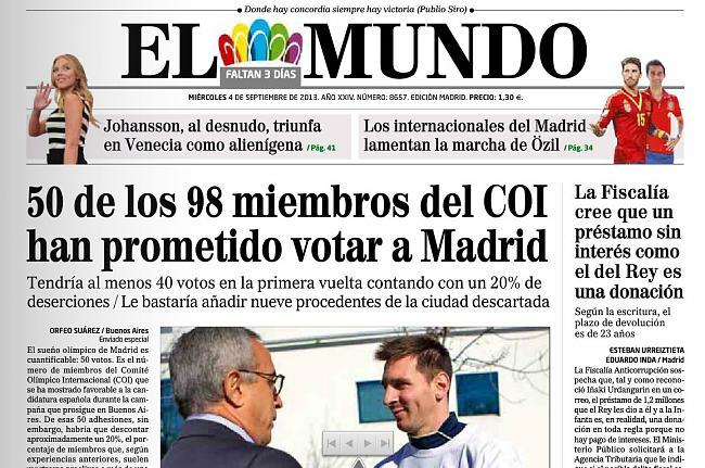 Madrid no conseguirá los Juegos-portada-elmundo.jpg